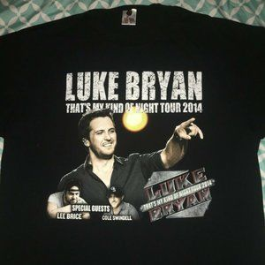Luke Bryan Thats My Kind of Night Tour 2014 XL Tee